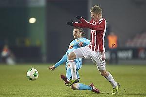 Martin Vingaard (FC Nordsj�lland), Kasper Kusk (Aab)
