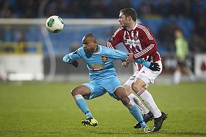 Henrik Dalsgaard (Aab), Joshua John (FC Nordsj�lland)