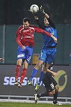 Dennis S�rensen (FC Vestsj�lland), Jonas L�ssl (FC Midtjylland)