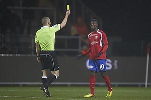 Mads-Kristoffer Kristoffersen, dommer, Joel Tshibamba (FC Vestsj�lland)
