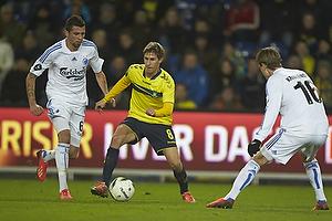 Alexander Szymanowski (Br�ndby IF), Claudemir De Souza (FC K�benhavn)