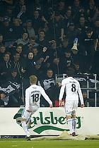 Nicolai J�rgensen (FC K�benhavn) , Thomas Delaney (FC K�benhavn)