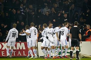 Nicolai J�rgensen, m�lscorer (FC K�benhavn), Olof Mellberg (FC K�benhavn)