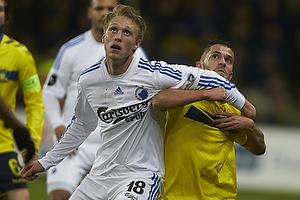 Riza Durmisi (Br�ndby IF), Nicolai J�rgensen (FC K�benhavn)