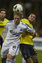Nicolai J�rgensen (FC K�benhavn), Riza Durmisi (Br�ndby IF)