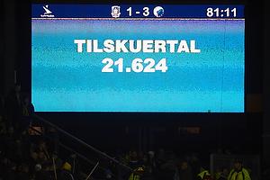 Tilskueretallet p� Br�ndby Stadion