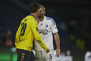 Dario Dumic (Br�ndby IF), Olof Mellberg (FC K�benhavn)