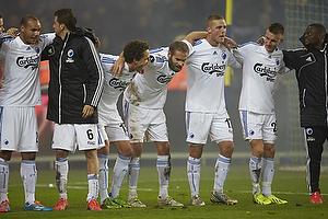 Claudemir De Souza (FC K�benhavn), Georg Margreitter (FC K�benhavn), Olof Mellberg (FC K�benhavn), Nicolai J�rgensen (FC K�benhavn)