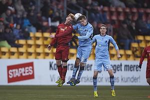 Anders Christiansen (FC Nordsj�lland), Nicolai Poulsen (Randers FC)