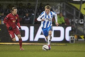 Emil Larsen (Ob), Martin Vingaard (FC Nordsj�lland)