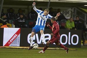 Espen Ruud (Ob), Patrick Mtiliga (FC Nordsj�lland)