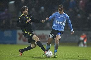 Martin �rnskov (Br�ndby IF), Nicolai Madsen (S�nderjyskE)