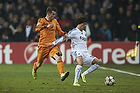 Gareth Bale (Real Madrid CF), Cristian Bolanos (FC K�benhavn)