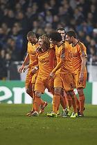 Luka Modrić, m�lscorer (Real Madrid CF), Pepe (Real Madrid CF)