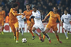 Pepe (Real Madrid CF), Youssef Toutouh (FC K�benhavn), Álvaro Arbeloa (Real Madrid CF)