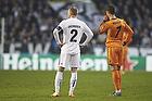 Lars Jacobsen, anf�rer (FC K�benhavn), Cristiano Ronaldo (Real Madrid CF)