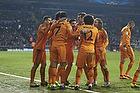 Cristiano Ronaldo, m�lscorer (Real Madrid CF), Xabi Alonso (Real Madrid CF), Marcelo (Real Madrid CF), Luka Modrić (Real Madrid CF)