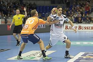 Bo Spellerberg (KIF Kolding K�benhavn), Klaus Thomsen (Team Tvis Holstebro)