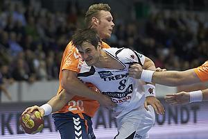 Bo Spellerberg (KIF Kolding K�benhavn), Klaus Thomsen (Team Tvis Holstebro), Morten Nyberg (Team Tvis Holstebro)