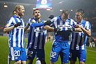 Martin Pusic, m�lscorer (Esbjerg fB), Mohammed Fellah (Esbjerg fB), Jonas Knudsen (Esbjerg fB)
