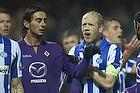 Hans Henrik Andreasen, anf�rer (Esbjerg fB), Alberto Aquilani (ACF Fiorentina)