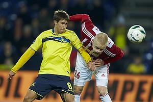Alexander Szymanowski (Br�ndby IF), Rasmus Thelander (Aab)