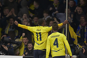Kenneth Zohore, m�lscorer (Br�ndby IF), Daniel Stenderup (Br�ndby IF)
