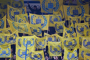 Br�ndbyfans med to-pindsflag