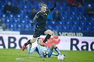 Michael Almeb�ck (Br�ndby IF), Theodor Elmar Bjarnason (Randers FC)