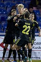 Simon Makienok Christoffersen, m�lscorer (Br�ndby IF), Ferhan Hasani (Br�ndby IF)