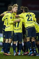 Simon Makienok Christoffersen (Br�ndby IF), Ferhan Hasani (Br�ndby IF), Thomas Kahlenberg, anf�rer (Br�ndby IF)