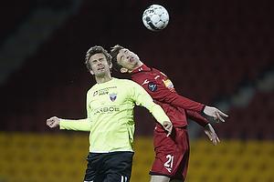 Ivan Runje (FC Nordsj�lland), Dennis S�rensen (FC Vestsj�lland)