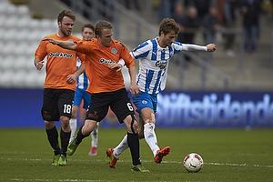 Morten Skoubo (Ob), Christopher Poulsen (Viborg FF), Nicholas Gotfredsen (Viborg FF)