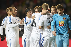 Daniel Omoya Braater (FC K�benhavn), Cristian Bolanos (FC K�benhavn), Georg Margreitter (FC K�benhavn), Andreas Cornelius (FC K�benhavn)