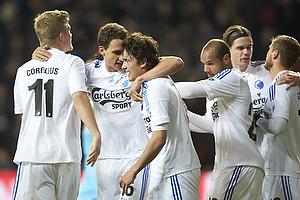 Andreas Cornelius (FC K�benhavn), Thomas Kristensen (FC K�benhavn), Thomas Delaney (FC K�benhavn), Daniel Omoya Braater (FC K�benhavn)