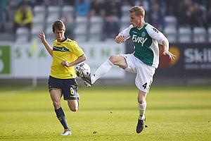 Alexander Szymanowski (Br�ndby IF), Jacob Egeris (Viborg FF)