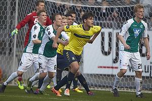 Dario Dumic (Br�ndby IF), Christopher Poulsen (Viborg FF), Thomas Dalgaard (Viborg FF)