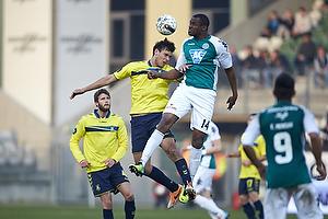 Dario Dumic (Br�ndby IF), Babajide Ogunbiyi (Viborg FF)