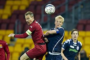 Nikolaj Stokholm, anf�rer (FC Nordsj�lland), Anders Kure (Agf)