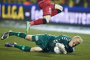Oliver Thychosen (FC Nordsj�lland), Emil Ousager (Agf)