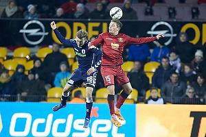 Casper Sloth (Agf), Jens Stryger Larsen (FC Nordsj�lland)