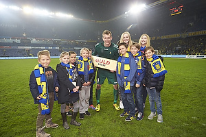 Man of the match sponsor med Lukas Hradecky (Br�ndby IF)