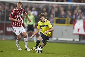 Andrew Hjulsager (Br�ndby IF), Thomas Augustinussen (Aab)
