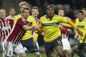 Kenneth Zohore (Br�ndby IF), Kenneth Emil Petersen (Aab)