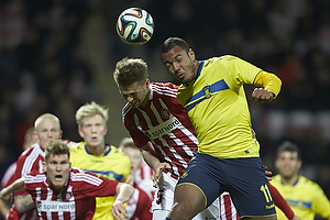 Kenneth Emil Petersen (Aab), Kenneth Zohore (Br�ndby IF)