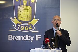 Pressemøde i Brøndby IF om ungdomssatsning