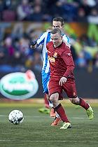Uffe bech (FC Nordsj�lland)Uffe bech (FC Nordsj�lland), Magnus Lekven (Esbjerg fB)