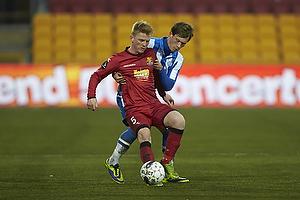 Anders Christiansen (FC Nordsj�lland), Ryan Johnson Laursen (Esbjerg fB)