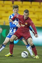Kim Aabech (FC Nordsj�lland), Michael Jakobsen (Esbjerg fB)