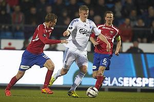 Andreas Cornelius (FC K�benhavn), Morten Bertolt (FC Vestsj�lland)